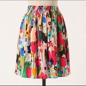 Anthropologie Corey Lynn Calter Mossy Atoms Skirt
